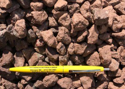 3.4 inch Burgundy Stone