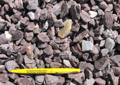 3.4 inch Purple Lavender Stone