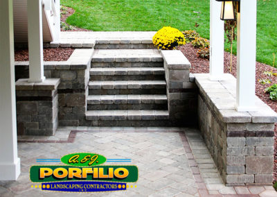A & J Porfilio | Stairs & Patio