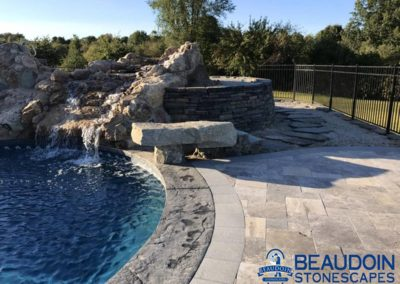 Beaudoin Stonescapes | Pool Patio & Water Feature